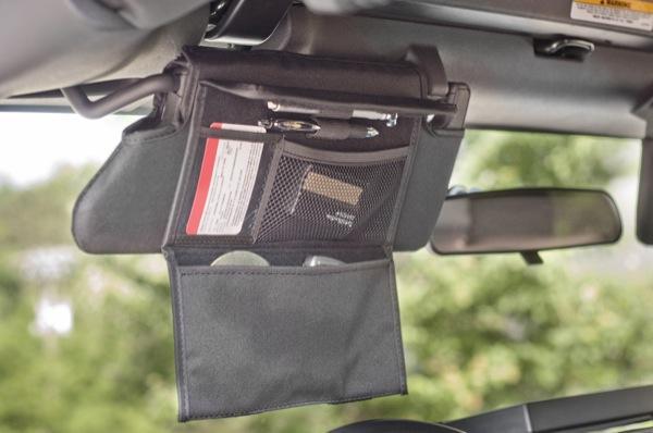 RR Sonnenblenden-Überzüge mit Taschen