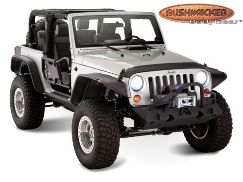 kotfl gelverbreiterung f r jeep wrangler online kaufen bushwacker allrad schmitt. Black Bedroom Furniture Sets. Home Design Ideas