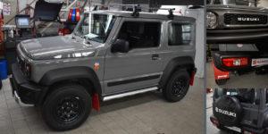 Suzuki Jimny mit vielen neuen Umbauteilen