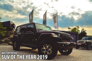 Jeep Wrangler JL Gewnner bei Motortrends SUV of the Year 2019