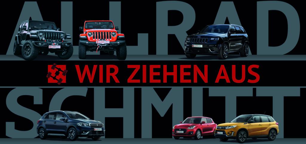 Allrad Schmitt verlässt seinen Standort in Höchberg und zieht in ein neues modernes Autohaus in Kist